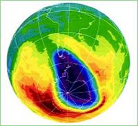 EL AGUJERO DE LA CAPA DE OZONO
